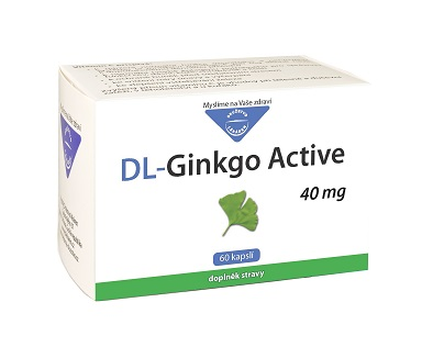 DL-Ginkgo Active 40mg 60 kapslí