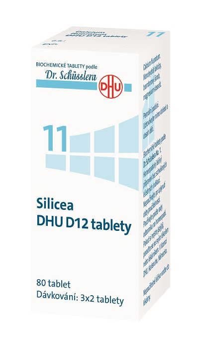 No. 11 Silicea DHU 80 tablet